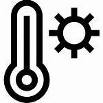 Heat Icon Calor Icono Iconos Icons Gratis