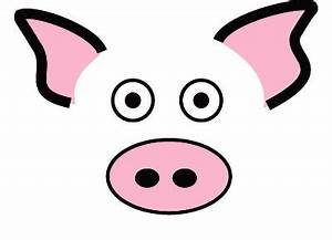Pig Face Clipart - Clipart Suggest