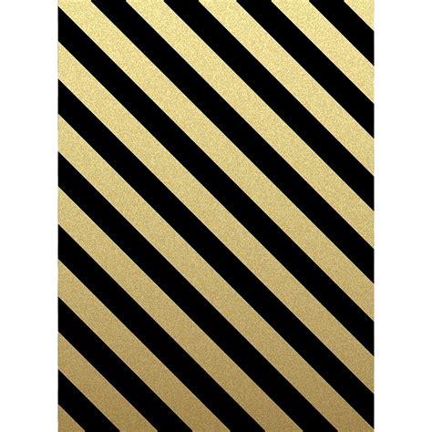 Black and Gold Stripes Printed Backdrop  Backdrop Express