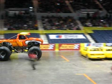 monster truck show rochester ny monster truck jam rochester ny at blue cross arena 2011