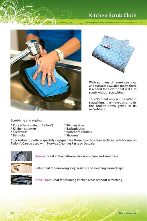 Bathroom Counters by Norwex Product Manual V1 2