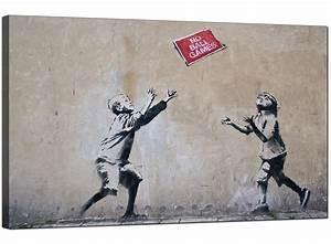 Banksy Canvas Prints - No Ball Games