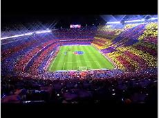 Espectacular mosaico en el clásico [Camp Nou][22032015