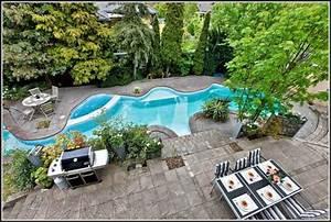 garten mit pool bilder download page beste wohnideen galerie With französischer balkon mit pool für garten test