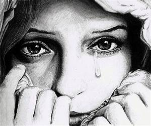 Sad Face Pencil Drawings - Drawing Of Sketch