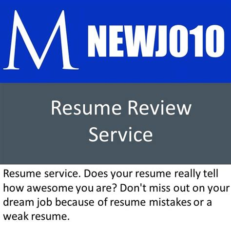 How To Improve A Weak Resume by Newj010 Resume Service Manager Foundation