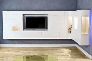 Idee Meuble Tv Fait Maison : galaktik l 39 architecture d 39 int rieur commerciale et particuliers ~ Melissatoandfro.com Idées de Décoration