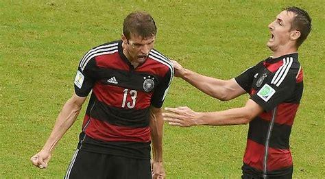 Nur lothar matthäus brachte es in deutschland auf mehr einsätze im kader der nationalmannschaft. Fußball-WM 2014 in Brasilien: Deutschland nach 1:0-Sieg ...