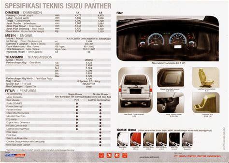 harga isuzu panther ls turbo semarang dealer resmi isuzu