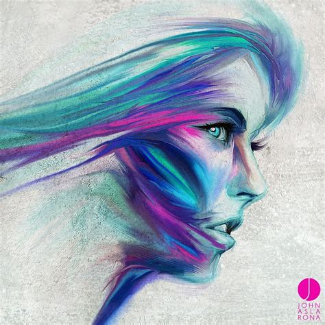 Wallpaper Face Drawing Illustration Women Abstract
