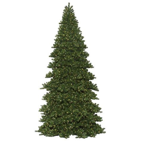 artificial christmas trees prelit giant artificial