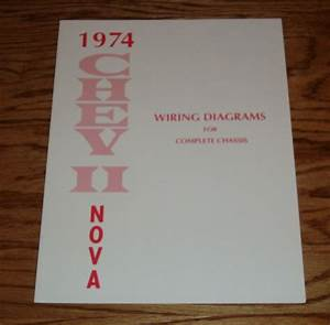 1974 Chevrolet Chevy Ii Nova Wiring Diagrams For Complete