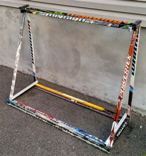 stick rack hockey stick builds