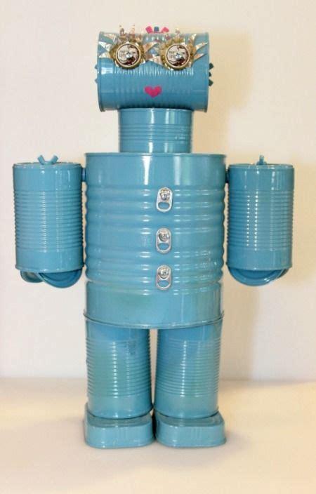 c 243 mo hacer robots para ni 241 os aprender manualidades es facilisimo robots reciclaje
