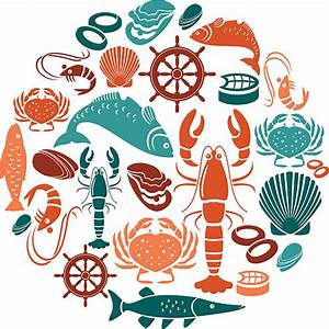 Royalty Free Seafood Clip Art, Vector Images ...