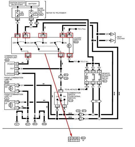 nissan pathfinder fuse box diagram nissan wiring diagram
