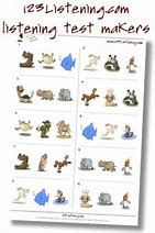 High quality images for free listening comprehension worksheets for ...