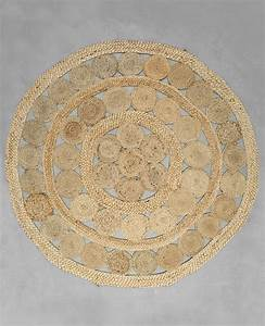 tapis rond jute beige taupe 50 902236742a07 pimkie With tapis rond beige