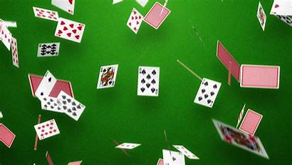 Cards Playing Poker Background Falling Getwallpapers