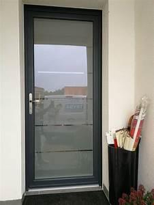 Pose Porte D Entrée : pose porte d 39 entr e enti rement vitr e pr s de fabr gues ~ Melissatoandfro.com Idées de Décoration