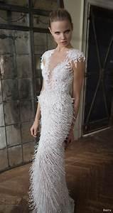 berta bridal fall 2016 wedding dresses campaign lookbook With fringe wedding dress