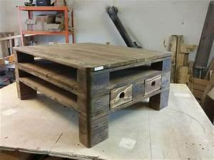 Euro Pallet Coffee Table Design 101 Pallets