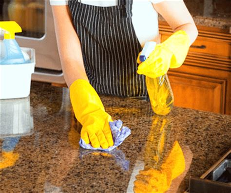 how to sanitize granite countertops granite4less