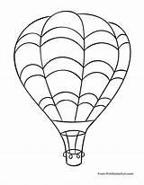 Balloon Air Coloring Pages Flying Sky Balloons Sheet Line Drawing Huge Printable Print Worksheets Sheets Getdrawings Grade Printcolorfun Through Star sketch template