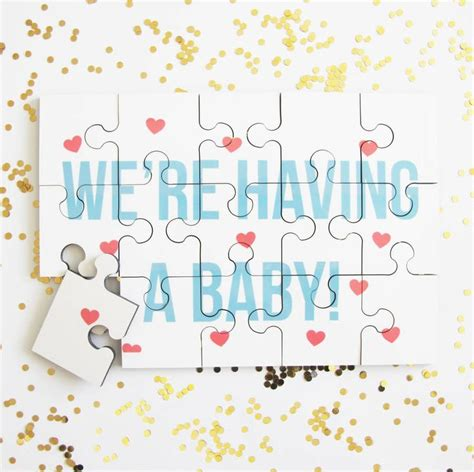 unique baby announcement ideas  pinterest im