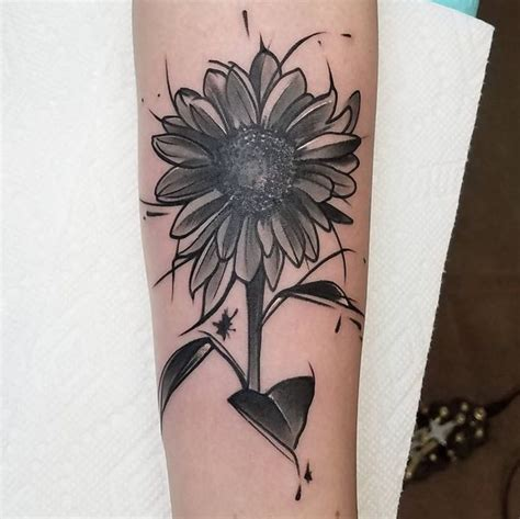 sunflower tattoo meaning  designs