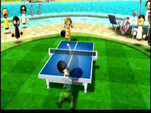 Wii Sports Resort - Table Tennis - VS. Champion Lucia - YouTube  Table Tennis Sports