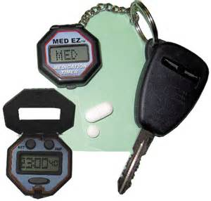 Medication Reminder Alarm Pill Box