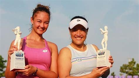 แทมมารีน คว้ารองแชมป์เทนนิสหญิงคู่หวดอาชีพ แคล-คอมพ์ ที่หัวหิน