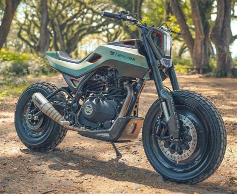 Modification Royal Enfield Himalayan by This Customised Royal Enfield Himalayan Is Out Of