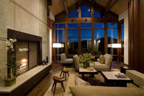 home decorating ideas for living rooms how to decorate a living room with large windows