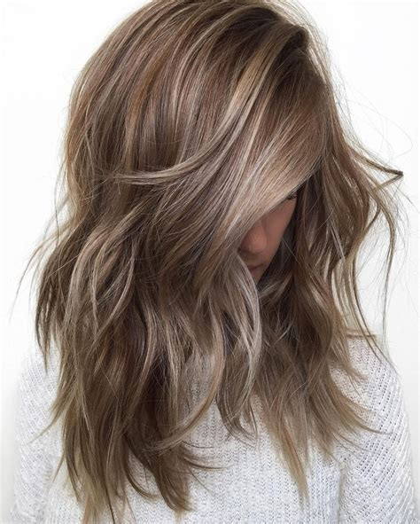 light ash brown with highlights hair color trends 2017 2018 highlights cool 50 ideas