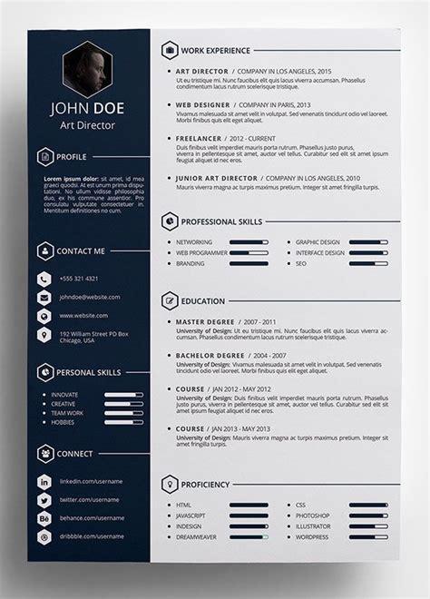 Amazing Resume Templates Free by Amazing Resume Templates Free Creative Resume Template In