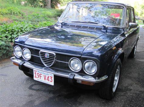 1975 Alfa Romeo Giulia Nuova Super