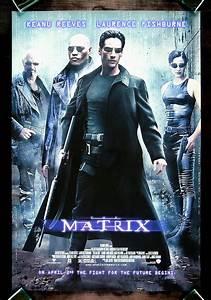 THE MATRIX * CineMasterpieces ORIGINAL NM-M C9-C10 MOVIE ...