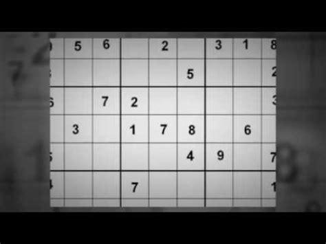 sudoku free youtube