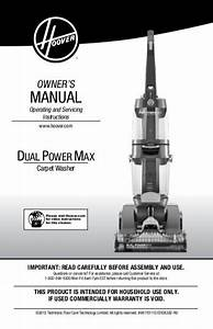 Hoover Dual Powermax Carpet Cleaner - Fh51000