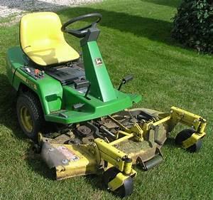 John Deere F525 Lawn Mower Zero Turn Front Deck Tractor Garden 46 U0026quot