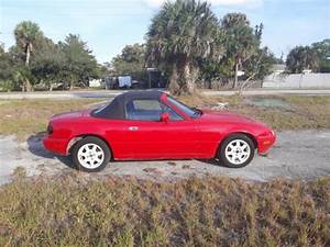 Red 1990 Mazda Mx-5 Miata 5 Speed Manual For Sale