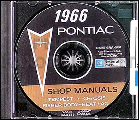 Pontiac Repair Shop Manual Reprint Bonneville Grand