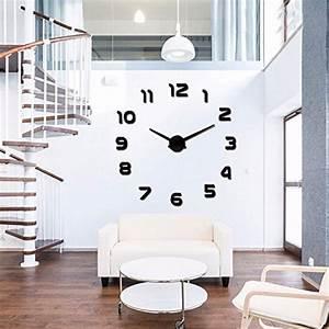 Moderne Wanduhren Wohnzimmer : diy wanduhr 3d moderne wanduhren acryl spiegel metall ~ A.2002-acura-tl-radio.info Haus und Dekorationen