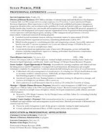 general labor resume objective statements human resources resume exle sle