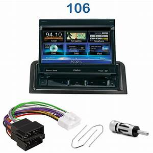 Autoradio 1 Din Ecran : autoradio clarion 1 din gps cran motoris peugeot 106 autoradios ~ Medecine-chirurgie-esthetiques.com Avis de Voitures