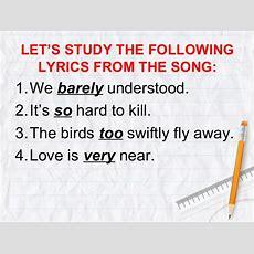 Adverbs Grade 9