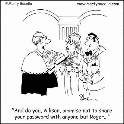 Funny Cartoon Marriage Weekend Tak Ceremony Bride