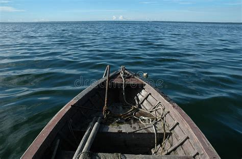 Wooden Boat Photography by Wooden Boat On Sea Royalty Free Stock Photography